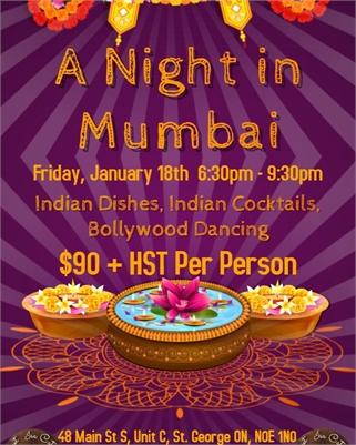 Sweet Isa Presents: A Night in Mumbai