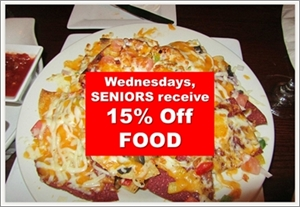 St. George Arms: Wednesday's Seniors Day