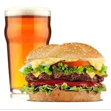 The Dragon Sports Bar: Muskoka Monday, Classic Burger & Tall Boy