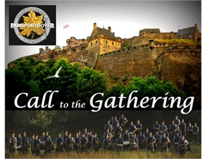 """Paris Port Dover Pipe Band - """"Call to the Gathering"""" Performance in Simcoe"""
