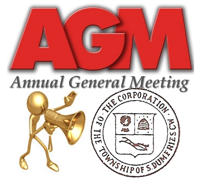 South Dumfries Historical Society, ANNUAL GENERAL MEETING