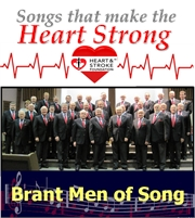 The Brant Men of Song present Songs that make the HEART STRONG