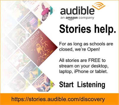 FREE STORIES ONLINE brought to you by AUDIBLE