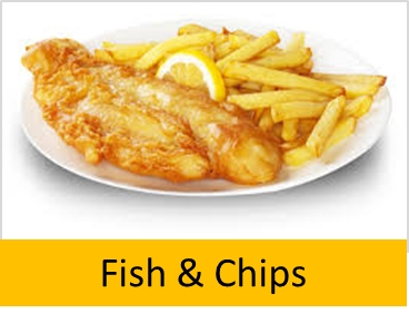 The Dragon Sports Bar: Fish & Chips, Thursdays