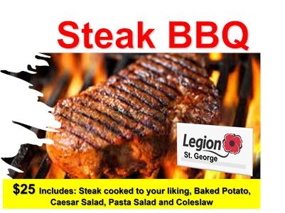St. George Legion - Steak BBQ
