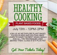 Sweet Isa Catering presents: HEALTHY COOKING with Plant Based Foods