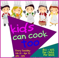 Sweet Isa Presents: KIDS CAN COOK TOO