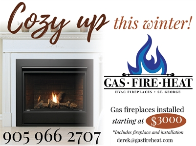 Gas Fire Heat Fireplaces with Installation starting at $3000