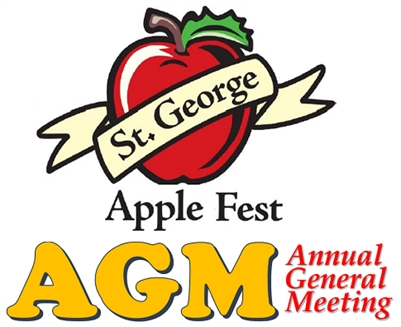 St. George AppleFest AGM, Annual General Meeting