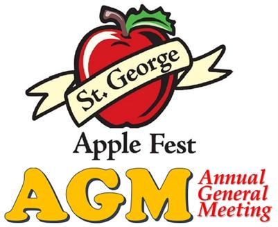 St. George AppleFest AGM, Annual General Meeting