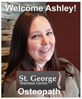 St. George Wellness WELCOMES ASHLEY to our Osteopathic Team!