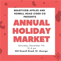 Brantview Apples ANNUAL HOLIDAY MARKET