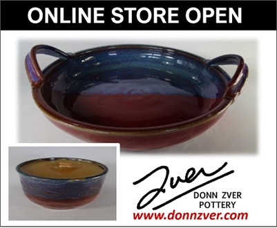Donn Zver Pottery is Proud to Announce our ONLINE STORE