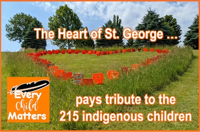 The Heart of St. George pays tribute to 215 indigenous children
