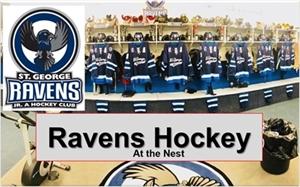 St. George Ravens Jr. A Hockey SCHEDULE