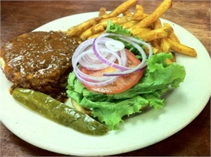St. George Arms: Sunday Burger & Fries $9.95 plus $6.00 Rock & Ultra