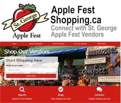 AppleFest Shopping Online Vendor Directory