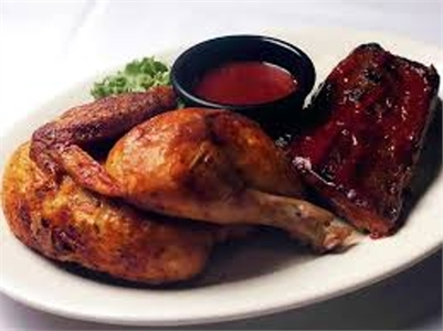 The Dragon Sports Bar: TAKE-OUT ONLY, CHICKEN & RIB DINNER on Saturdays