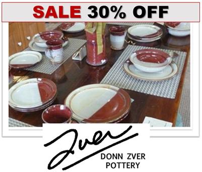 Donn Zver Pre-CHRISTMAS POTTERY SALE - 30% OFF