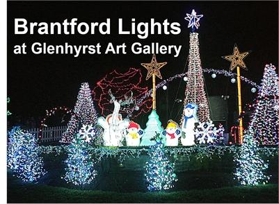 Brantford Lights at Glenhyrst Art Gallery