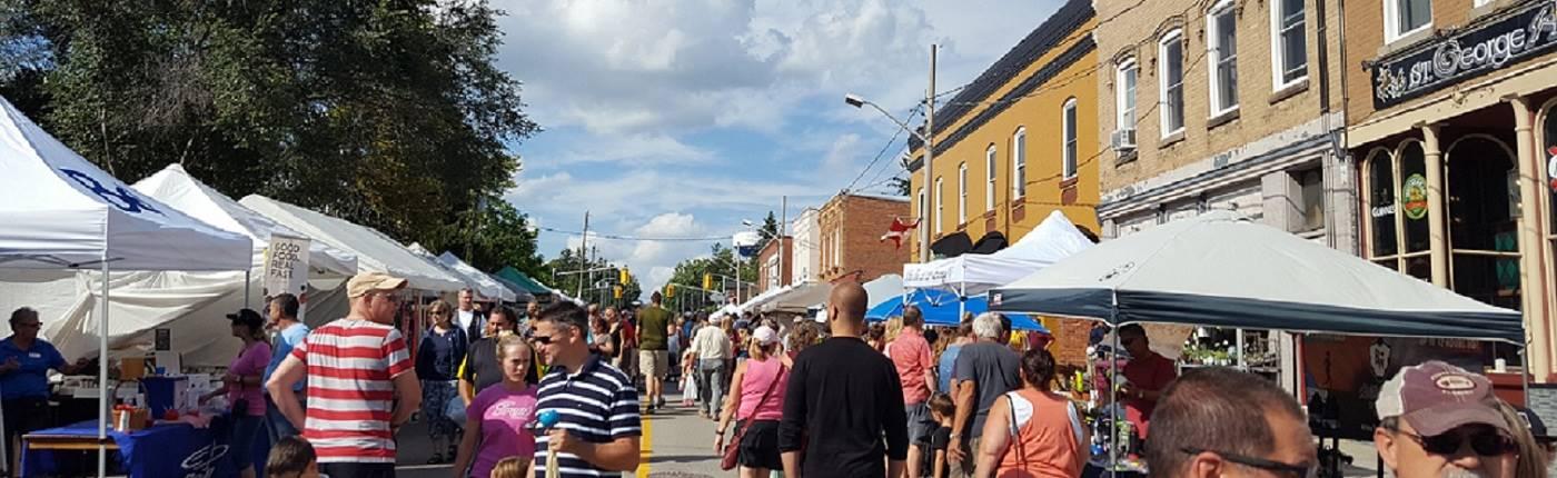 Applefest Street