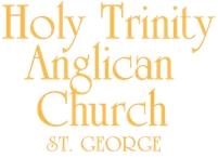 Holy Trinity Anglican Church Bob Calhoun