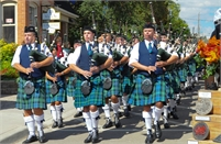 Paris Port Dover Pipe Band Gord Black